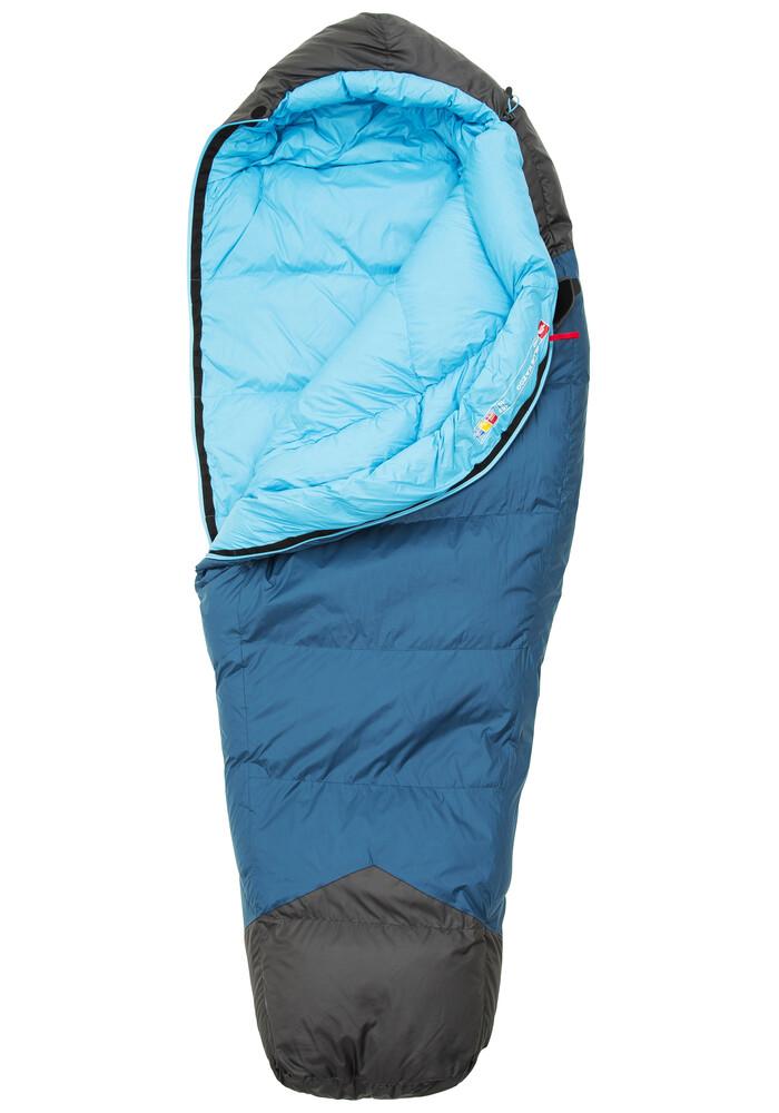 The North Face Blue Kazoo Sleeping Bag Women Regular Blue ...